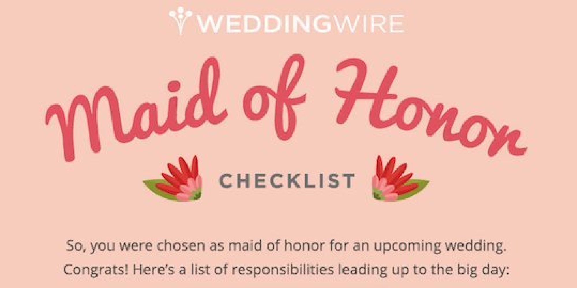 Everything You Need To Know About Being An All-Star Maid Of Honor ...