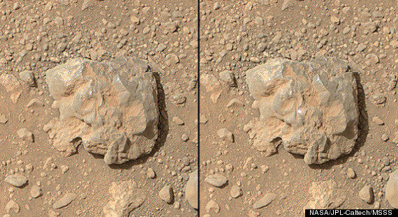 NASAs Mars rover is really good at laserblasting rocks