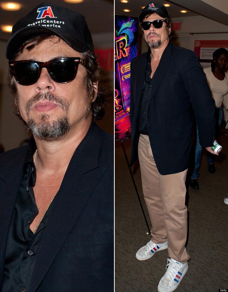 dd6f5e365be1ef Benicio Del Toro Brings Back The Trucker Hat (PHOTOS, POLL ...