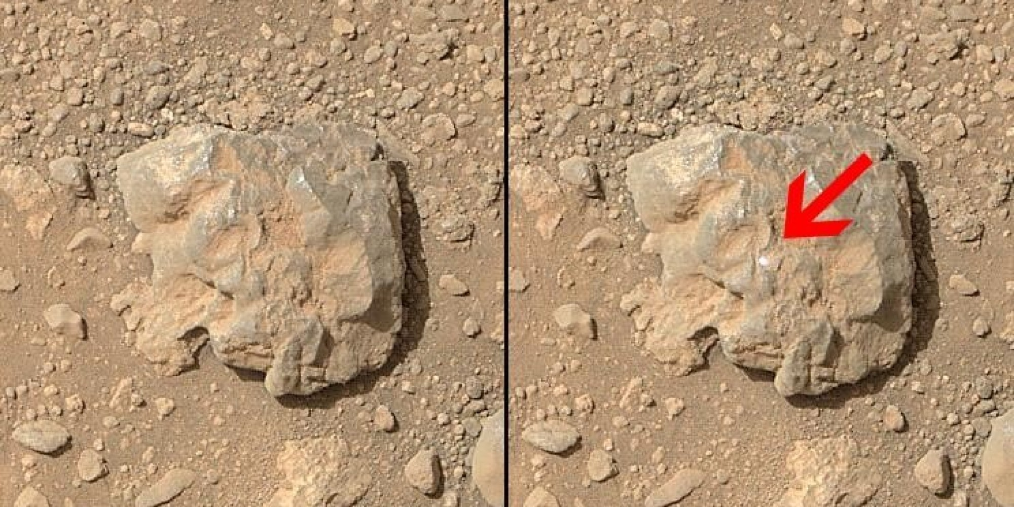 Watch NASA's Curiosity Rover Zap A Rock On Mars With A ...
