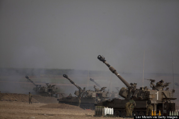 gaza israeli offensive