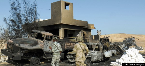 Gunmen Attack Egypt Troops, Killing 21 Near Libya