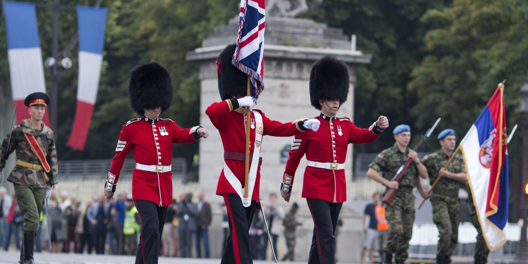 The Queen S Guard Performing Game Of Thrones Theme Is