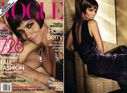 Halle Berry Naked Vogue