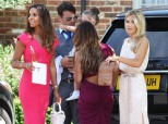 The Saturdays Show Their Support As Frankie Marries Wayne