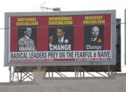 Obama Hitler Missouri Billboard