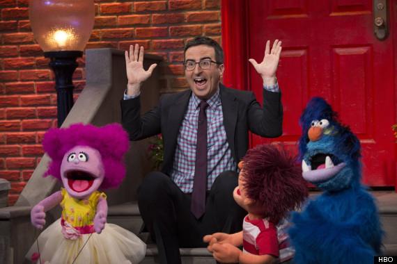 john oliver puppets prison