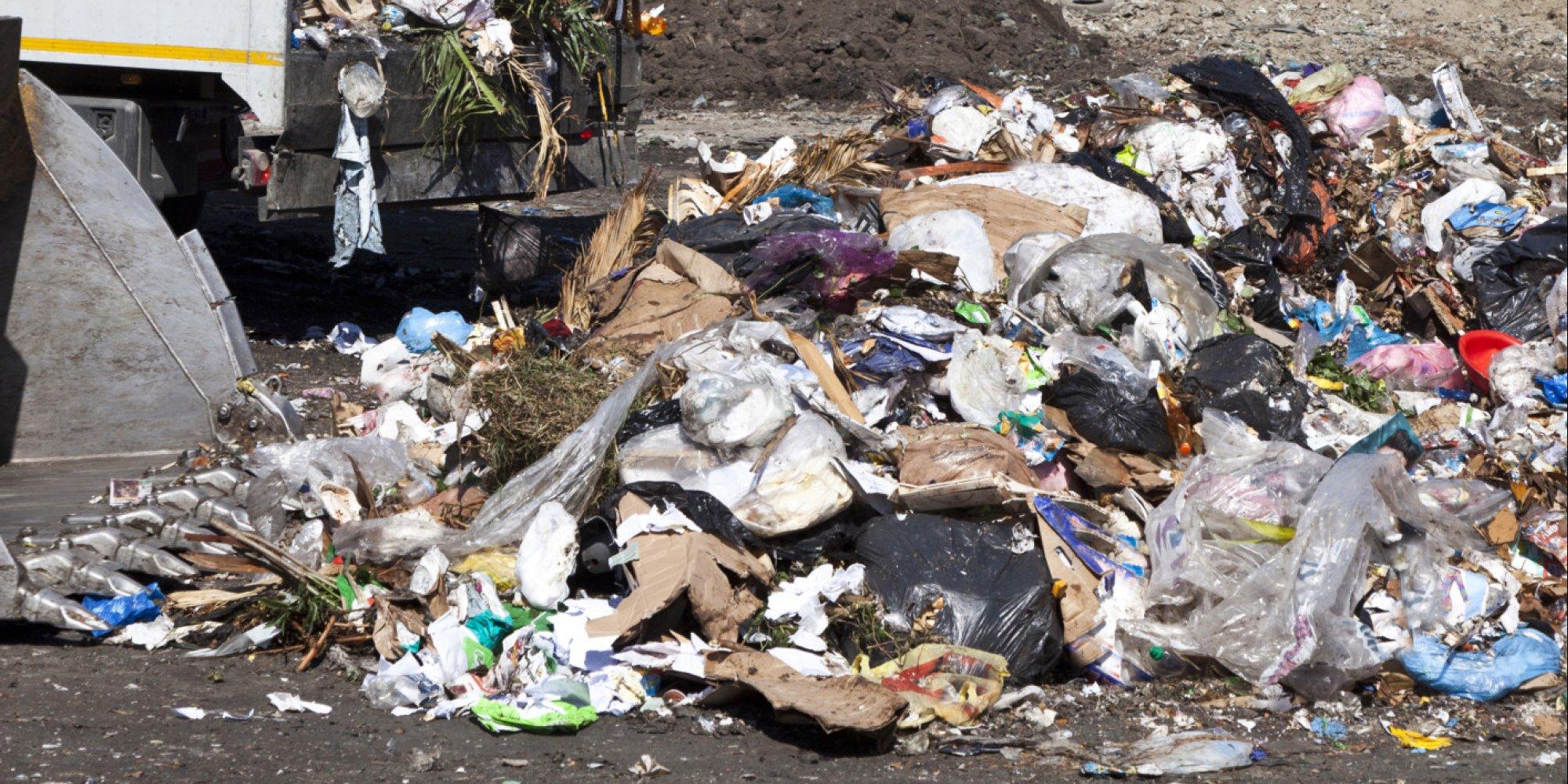 trash hauler allegedly dumps 1 78 tons of garbage in