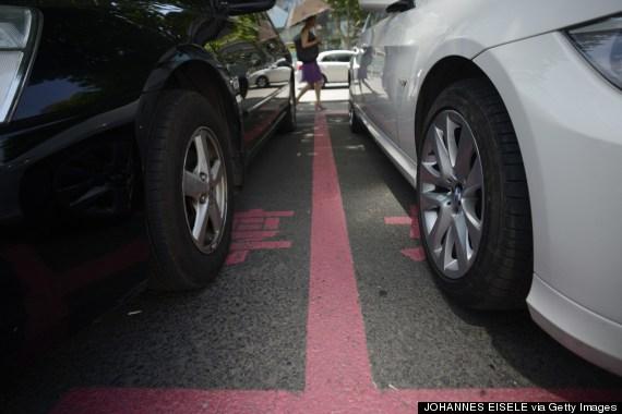 female parking spots
