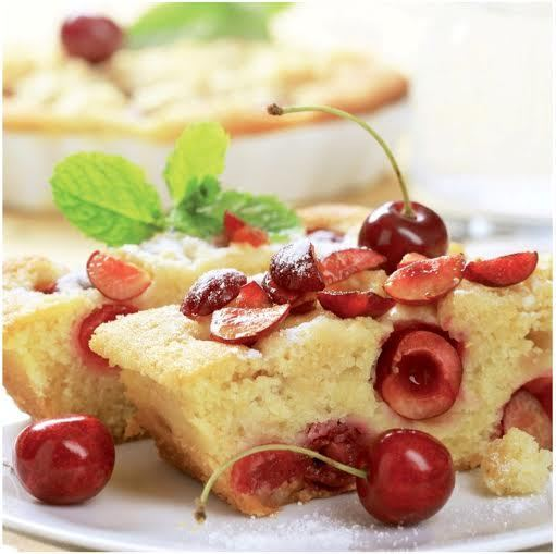 torta cerezas