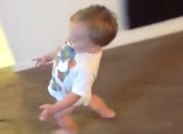 Watch This Adorable Baby 'Walk Like Mommy'