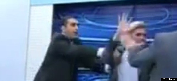 Gaza TV Debate Ends With Journalist Throwing Chair