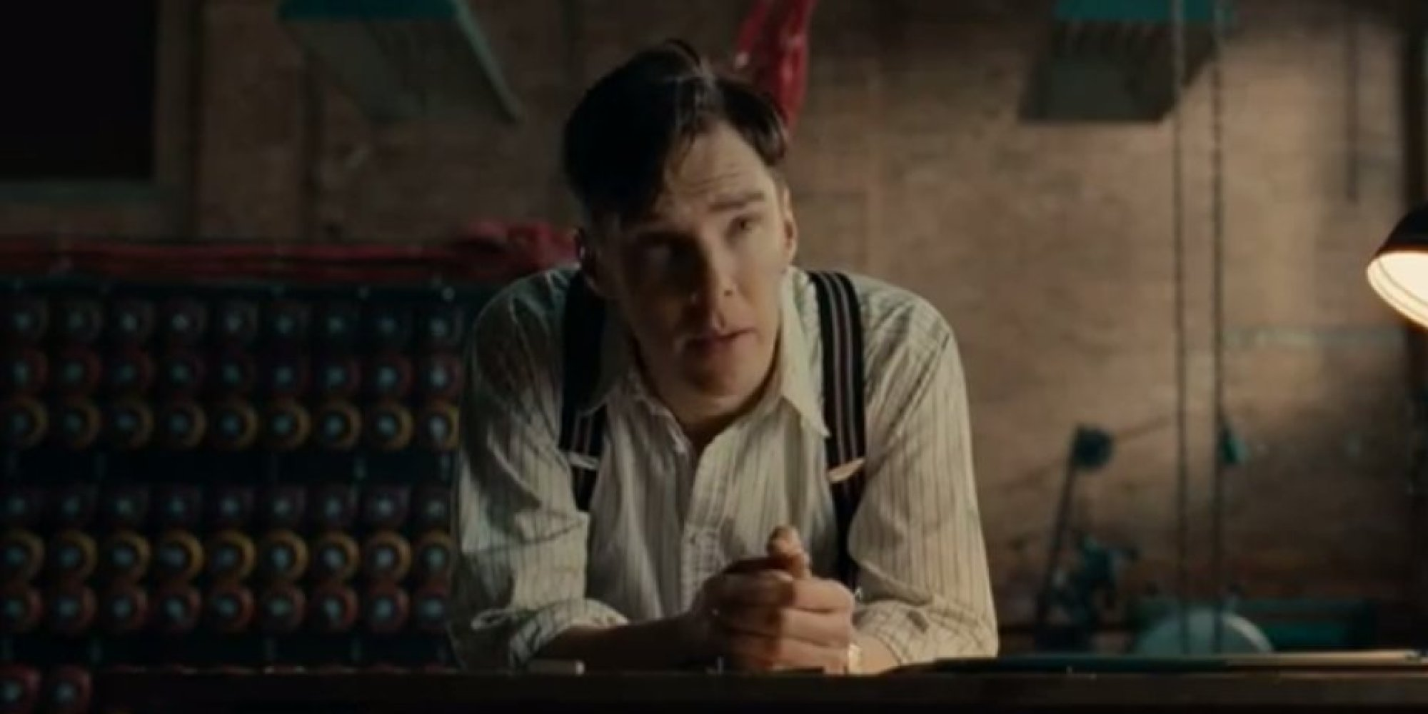 Benedict Cumberbatch starred in The Imitation Game