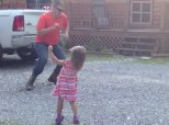 Dad Gets Home From Work And Has The Cutest Dance Party With His Daughter