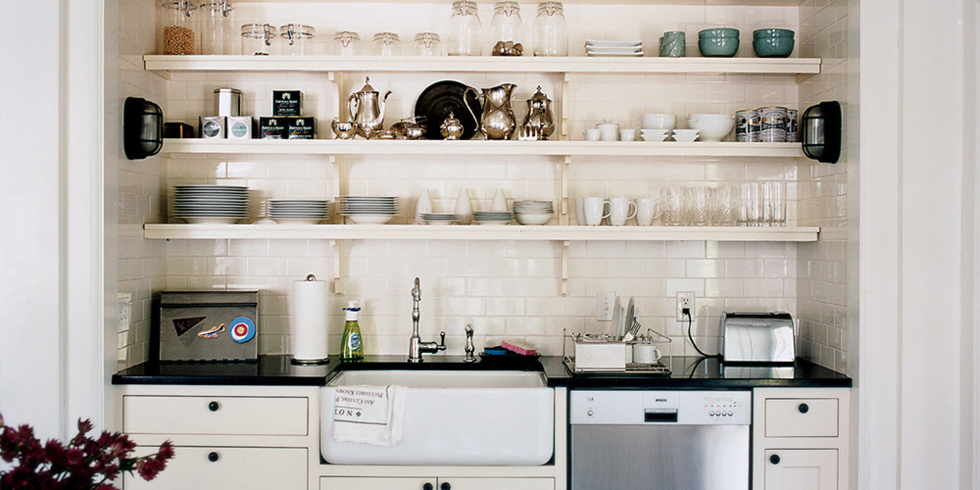 kitchen cabinets small kitchen 7 ways to get the most out of a tiny kitchen huffpost 21195