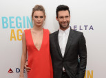 Obviously Adam Levine And Behati Prinsloo Had A Celeb Officiant