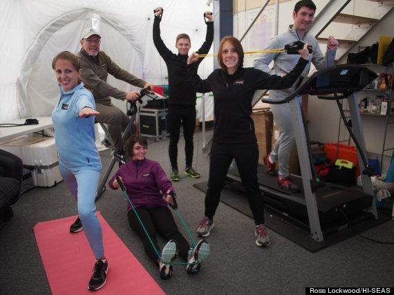 hiseas crew workout
