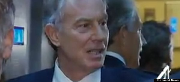 Tony Blair's Journo Escape Route Suppered By Insolent Lift