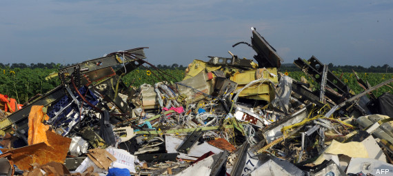 debris crash ukraine