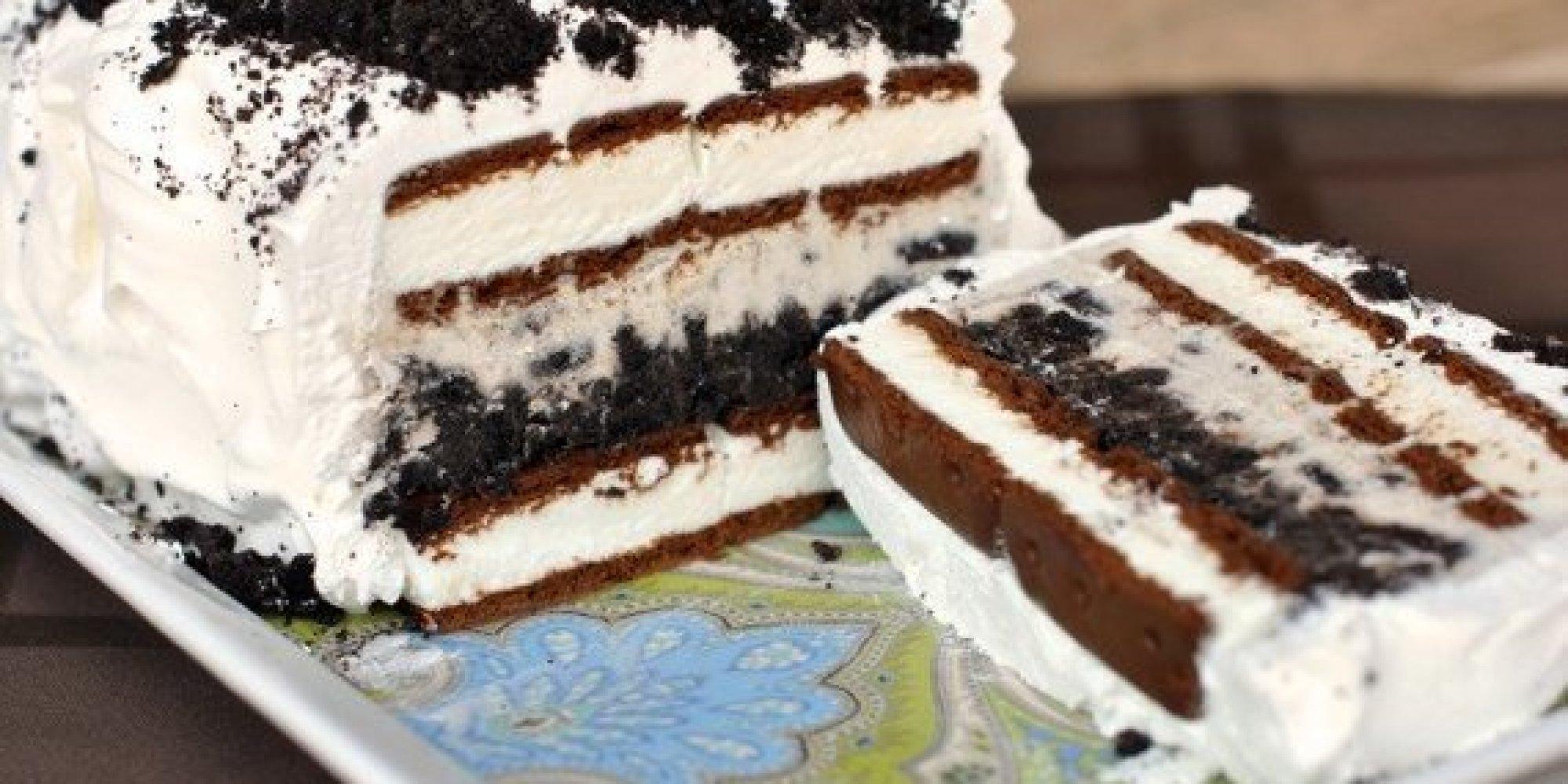 Homemade Ice Cream Cake For Birthday