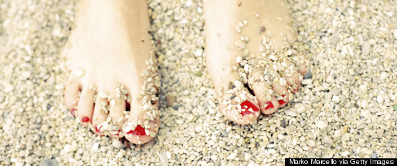 sand toes