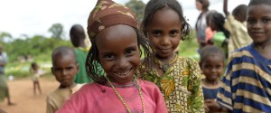 African Girls Smiling