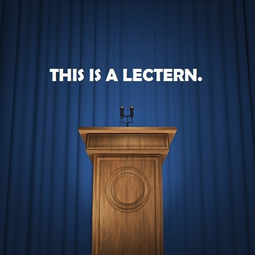this is a lectern