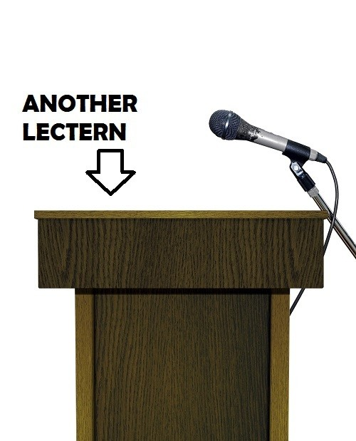 another lectern
