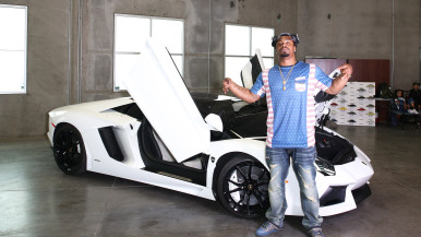 Marshawn Lynch Lamborghini