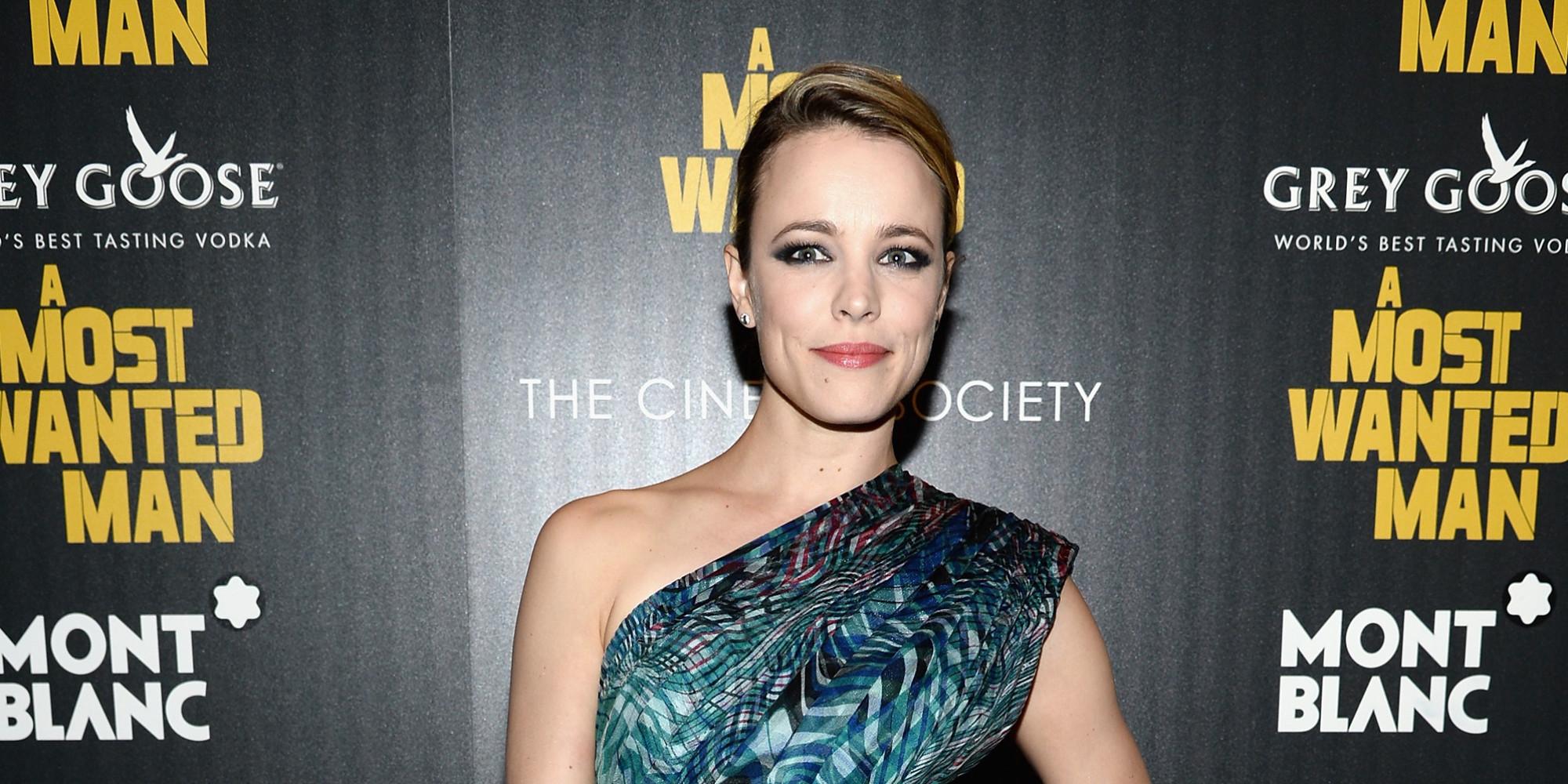 Rachel McAdams Dazzles In Print Dress On The Red Carpet Rachel Mcadams Facebook
