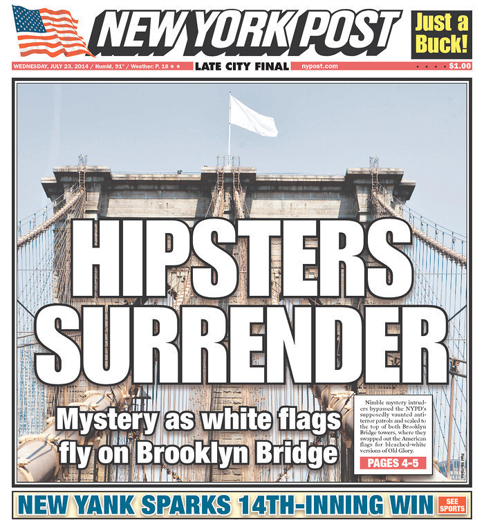 ny post hipsters