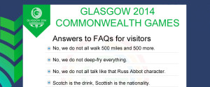 Glasgow Commonwealth Games Faq Spoof