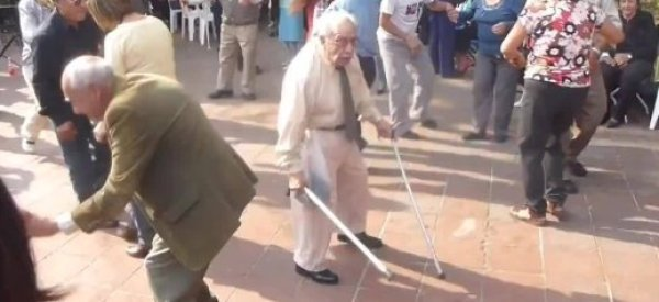 World's Most Badass Dancing Old Man Has Amazing Salsa Moves, Too