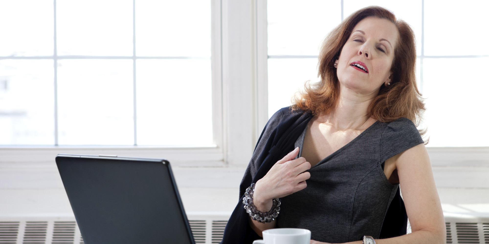 Caffeine May Worsen Hot Flashes And Night Sweats In Post
