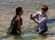 Kim Kardashian & Justin Bieber Go Swimming Together For Elle (PHOTOS)
