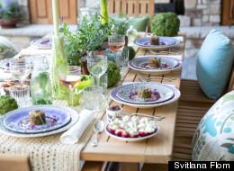 A Provence-Themed Dinner