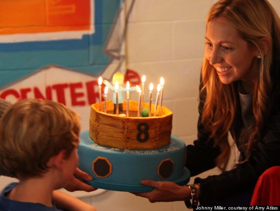 mom birthday party