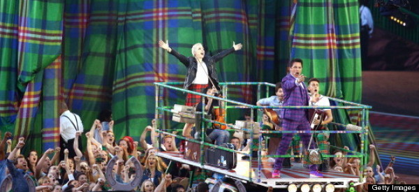 Commonwealth Games Opens At Celtic Park In Glasgow