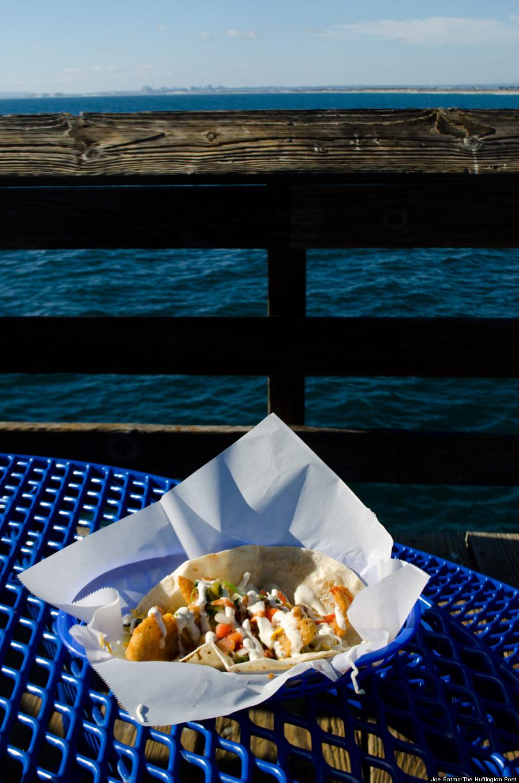 tin fish taco
