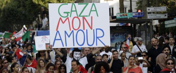MANIFESTATION GAZA