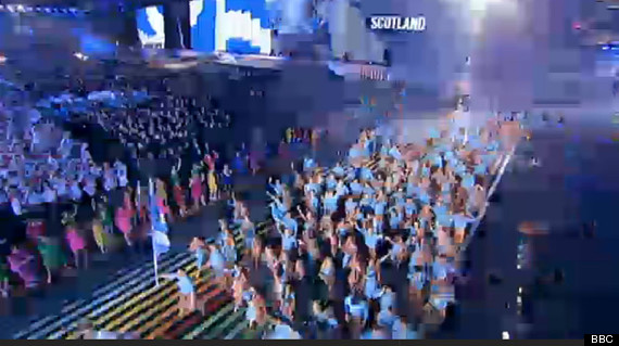 scotland opening ceremony