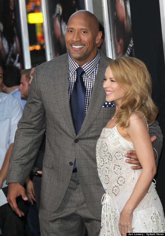 kylie minogue the rock