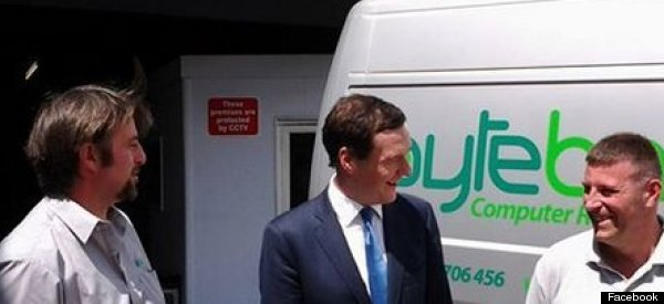 Was It Something I Said? IT Firm Pulls Out Of Job Scheme Just Days After Osborne Visit