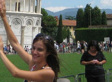 Awesome Guy Photobombs Tourist Pic At Leaning Tower Of Pisa (PHOTO)
