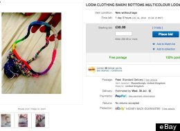 Loom Band Unisex Thong Goes On Sale On eBay (Unsurprisingly, It Has No Bids)
