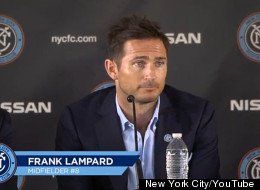 Lampard Unveiled As New York City Player