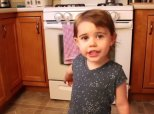 Doe-Eyed Toddler Makes Safety Lessons A Whole Lot More Adorable