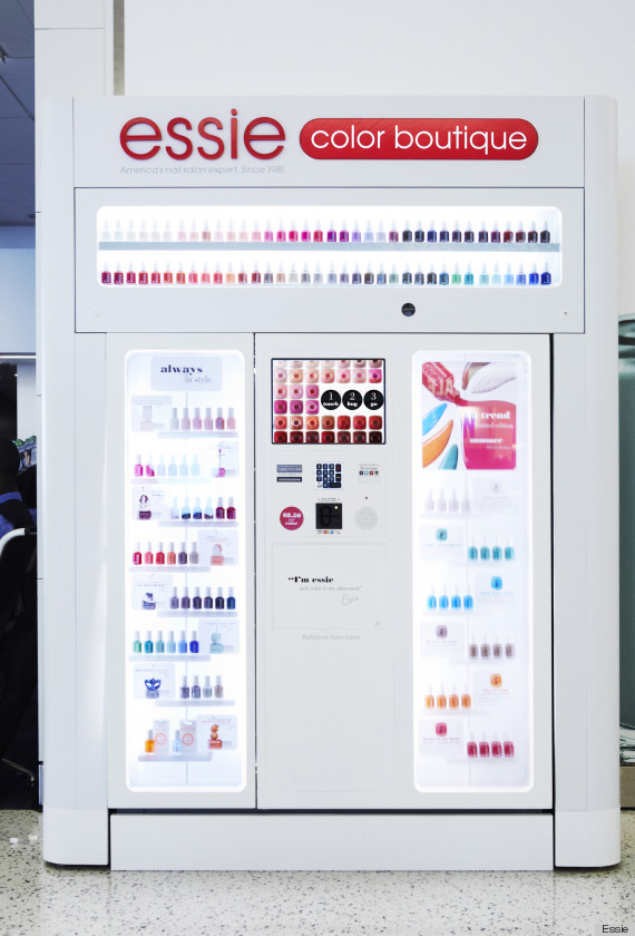 Essie Introduces Nail Polish Vending Machines So We Now Have No Excuse For Bare Nails