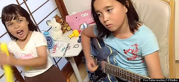 10-Year-Old Girl's Guitar Cover Of Slayer Is Insane