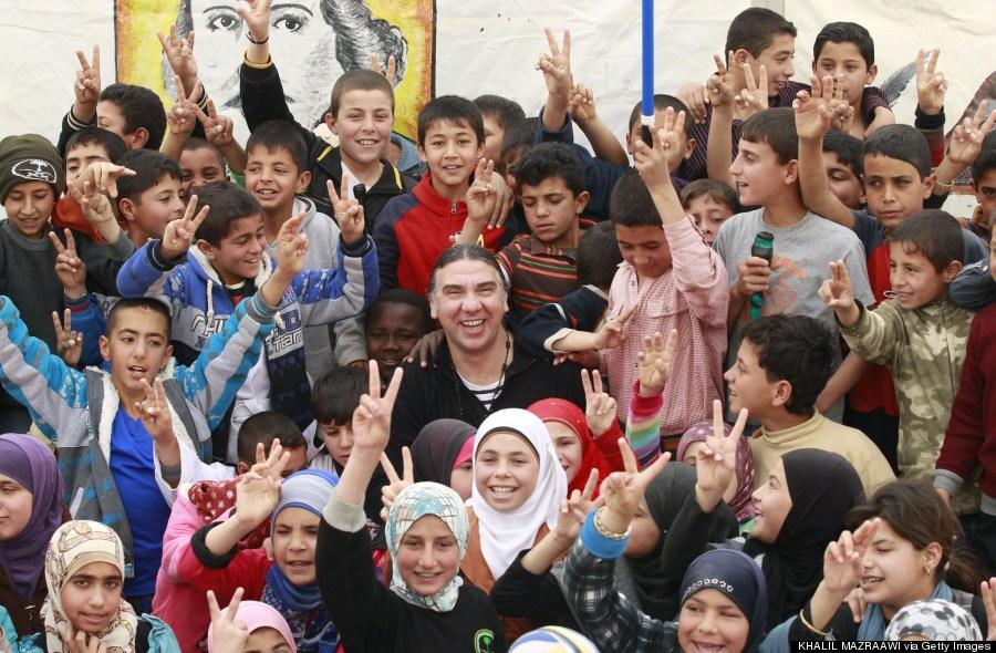 syrian children refugee